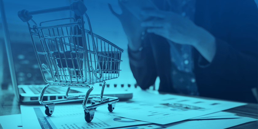 Carrinho de comprar com dados